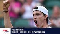 """Wimbledon : """"Je me suis vraiment fait plaisir aujourd'hui"""" confie Humbert"""