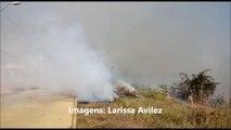 Incêndios causam muita fumaça em Colatina