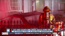 Crews battle multiple fires on Fourth of July
