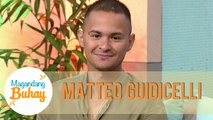 Matteo receives a message from his parents | Magandang Buhay