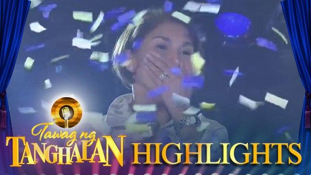 Mariko Ledesma defends the golden microphone for the 3rd time!   Tawag ng Tanghalan