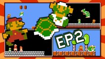 2 Players at Once in Super Mario Bros. NES | 2 Players Hack {EP2}