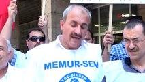 Tarım ve orman işçileri Bursa'da eylem yaptı