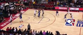 Zion Williamson scores first point then bricks misses first freethrow of his NBA career 7-5-19