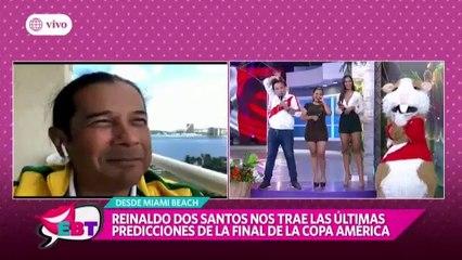 """Reinaldo Dos Santos lanza """"TERRIBLE"""" predicción para Perú vs. Brasil?"""