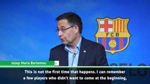 Griezmann rejected us before, but that's fine - Barca president Bartomeu