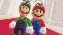 Super Mario Odyssey - Mario - Luigi Final Boss   Ending