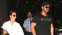 Arjun Kapoor And Malaika Arora Retrun From Their ROMANTIC Holiday