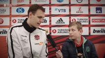EuroLeague Academy reporter asks Voigtmann