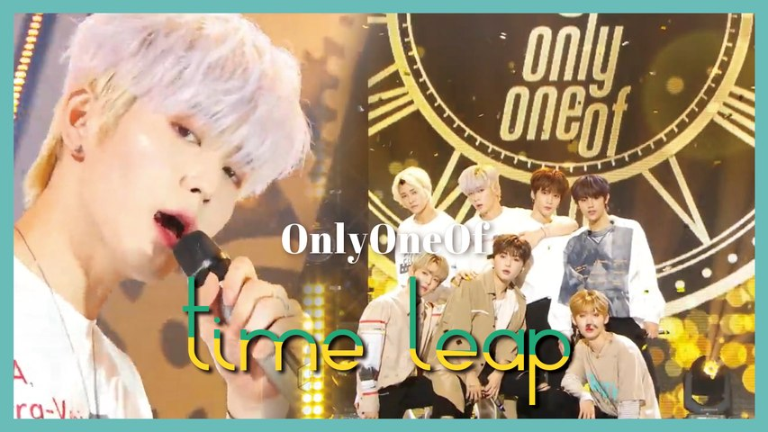 [HOT] OnlyOneOf - time leap, 온리원오브 - time leap Show Music core 20190706