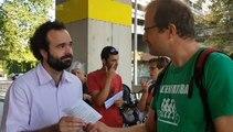 Grenoble :  ils dénoncent le manque d'ambition sur le climat
