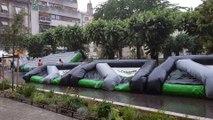Bourg-en-Bresse: l'orage perturbe les animations de la fête de l'été