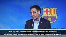 """Barça - Bartomeu: """"Une réunion confidentielle avec l'Atlético pour Griezmann"""""""
