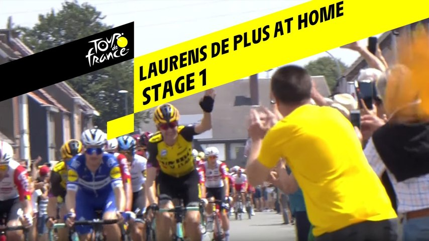 Laurens De Plus chez lui / Laurens De Plus at home - Etape 1 / Stage 1 - Tour de France 2019