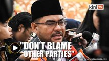 Don't use religion or blame other parties if you don't want to declare your assets, Mujahid tells PAS