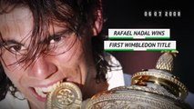 On this day: Rafael Nadal wins first Wimbledon title