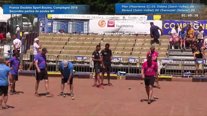Secondes parties de poules M1, France Doubles, Compiègne 2019