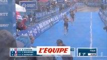 Beaugrand sur le podium - Triathlon - WTS - Hambourg