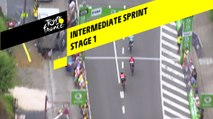 Sprint Intermédiaire / Intermediate Sprint - Etape 1 / Stage 1 - Tour de France 2019