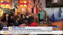 Municipales à Paris: Anne Lebreton se désiste au profit de Cédric Villani