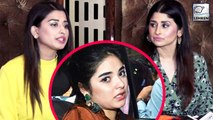 Saba And Somi Khan Reacts On Zaira Wasim Quitting Bollywood