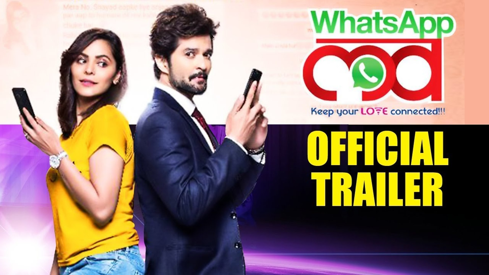 WhatsApp Love | Official Trailer | Raqesh Bapat | Anuja Sathe | Sareh Far | Marathi Movie 2019