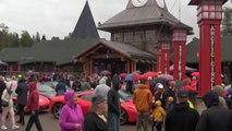 Record per le Ferrari al Circolo Polare, mai state così a Nord
