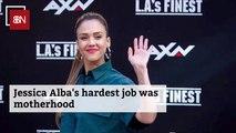 Jessica Alba's Toughest Job