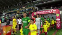 Beijing Guoan stay top of the table after beating Wuhan Zall 3-0 in CSL