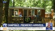 Dans ce camping du Tarn, l'heure est aux premières arrivées