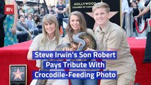 Robert Irwin Is Just Like His Legendary Dad