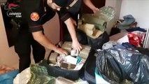 Roma - 3 corrieri della droga in arresto e 40 chili di hashish sequestrati (06.07.19)