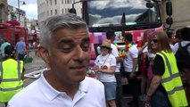 London is hosting its 'biggest' Pride says mayor Sadiq Khan