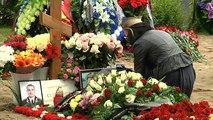 Entierran a los 14 marineros fallecidos en el submarino ruso incendiado