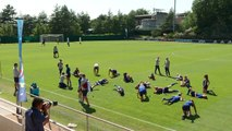 USA hold last training session ahead of WWC final with Netherlands