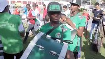 Fans gather in Alexandria ahead of Nigeria against Cameroon in AFCON round of 16