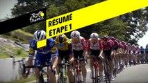 Résumé - Étape 1 - Tour de France 2019
