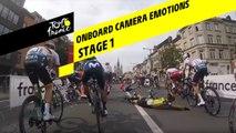 Onboard camera Emotions - Étape 1 / Stage 1 - Tour de France 2019
