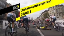 Onboard camera Emotions - Étape 1 / Stage 1 - Tour de France 2019