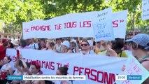 Violences faites aux femmes : grand rassemblement à Paris pour lutter contre les féminicides