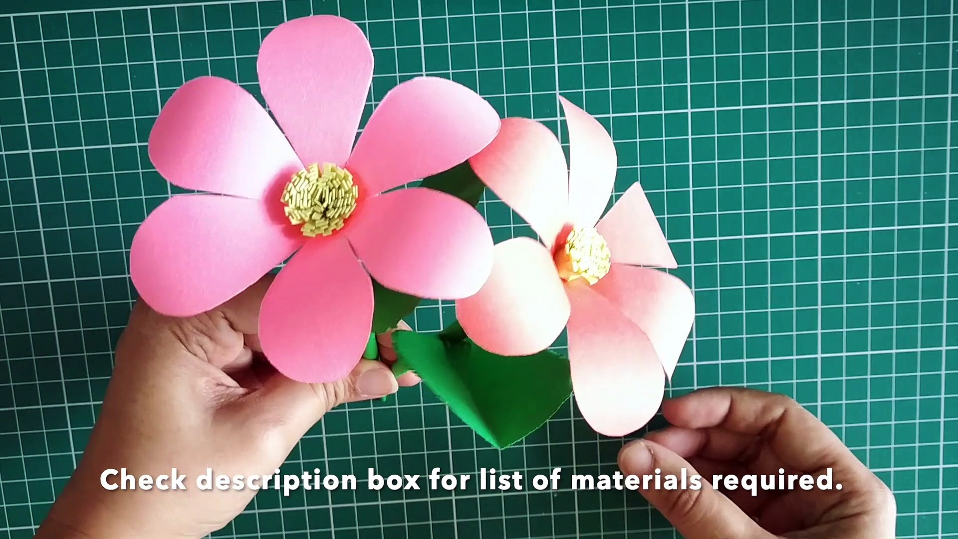 How To Make Paper Flowers Step By Step Easy Dailymotion Manual ... | 1080x1920