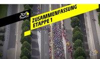 Zusammenfassung - Etappe 1 - Tour de France 2019