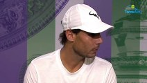 """Wimbledon 2019 - Rafael Nadal : """"We know that we are not young with Federer and Djokovic"""""""