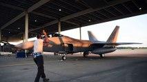 F-22 Raptors Deploy To Middle East Air Base • July 2019