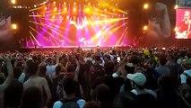 Eurockéennes de Belfort Weezer sur la Grande Scène et leur tube Island in the sun