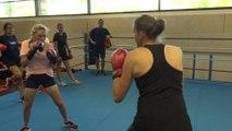 Championnat d'Europe par équipes Dames : Les Françaises se préparent... à la boxe