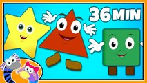 Learning Kids - Children lesson -Shapes Song - Learn Shapes - Nursery Rhymes Collection for Kids - Kids - Learning Kids - Children Education