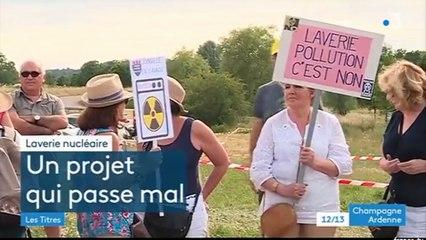 UNITECH - manifestation à SUZANNECOURT, le 3 juillet, à l'occasion d'une réunion d'information
