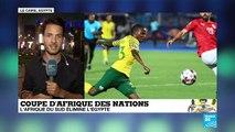 CAN-2019 : Immense désillusion pour l'Egypte éliminée en huitièmes par l'Afrique du Sud
