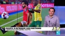 CAN-2019 : L'Afrique du Sud élimine l'Egypte en huitièmes de finale